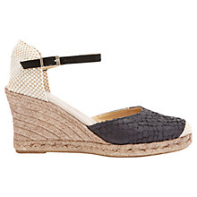 Buy Mint Velvet Gigi Leather Espadrille Sandals Online at johnlewis.com