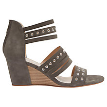 Buy Mint Velvet Toni Wedge Leather Sandals Online at johnlewis.com