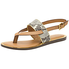 Buy Ted Baker Dendrum Flat Flip Flop Sandals Online at johnlewis.com