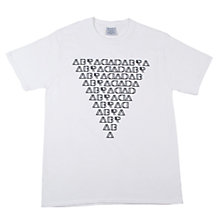 Buy SCRT Abracadabra Print T-Shirt, White Online at johnlewis.com
