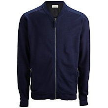 Buy Selected Homme Zip-Through Cardigan, Dark Blue Online at johnlewis.com