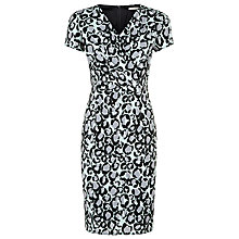 Buy Planet Printed Cap Sleeves Dress, Light Green Online at johnlewis.com