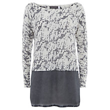 Buy Mint Velvet Tessie Print Layered Jumper, Multi Online at johnlewis.com