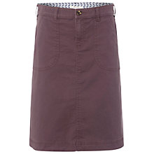 Buy White Stuff Chino Skirt, Misty Mauve Online at johnlewis.com