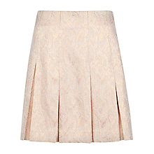 Buy Ted Baker Metallic Snake Suit Skirt, Beige Online at johnlewis.com