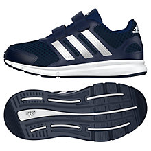 Buy Adidas Children's LK Sport Running Trainers, Navy Online at johnlewis.com
