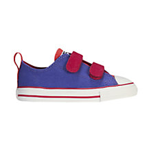 Buy Converse Chuck Taylor All Star Two Tone Trainers, Red/Blue Online at johnlewis.com