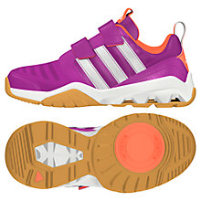 Buy Adidas Children's Gymplus 3 Trainers, Purple Online at johnlewis.com