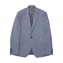 Buy Ben Sherman Tailoring Camden Fit Puppytooth Wool Jacket, Washed Blue Online at johnlewis.com