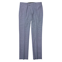 Buy Ben Sherman Camden Fit Puppytooth Suit Trousers, Washed Blue Online at johnlewis.com
