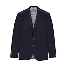 Buy Ben Sherman Tailoring Hopsack Weave Camden Fit Jacket, Navy Online at johnlewis.com
