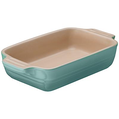Le Creuset Stoneware Rectangular Dish, Mint