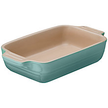 Buy Le Creuset Stoneware Rectangular Dish, Mint Online at johnlewis.com