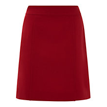Buy Hobbs Christina Skirt, Cherry Red Online at johnlewis.com