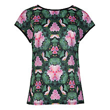 Buy Ted Baker Natural Kingdom Geometric T-Shirt, Multi Online at johnlewis.com