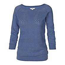 Buy Fat Face Libby Jumper, Dark Chambray Online at johnlewis.com