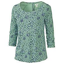 Buy Fat Face Aylesbury Flora Bundle T-Shirt, Green Tea Online at johnlewis.com