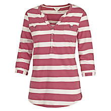 Buy Fat Face Wickham Stripe Popover Top Online at johnlewis.com