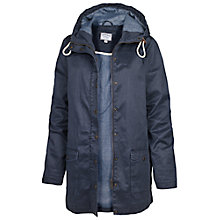 Buy Fat Face Maisie Mac Jacket, Navy Online at johnlewis.com