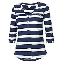 Buy Fat Face Wickham Stipe Popover Top Online at johnlewis.com