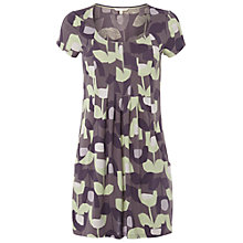 Buy White Stuff Short Sleeve Tulip Tunic, Soft Apple Online at johnlewis.com
