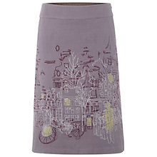 Buy White Stuff Urban Sketch Skirt, Steel Online at johnlewis.com