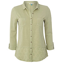 Buy White Stuff Dorothea Shirt, Soft Apple Online at johnlewis.com