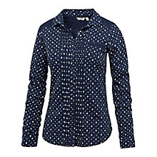 Buy Fat Face Geo Ditsy Bud Lace Shirt Online at johnlewis.com