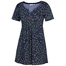 Buy Fat Face Butterfly Print Tunic Dress, Navy Online at johnlewis.com