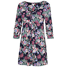 Buy Fat Face Garden Flowers Tunic, Navy Online at johnlewis.com