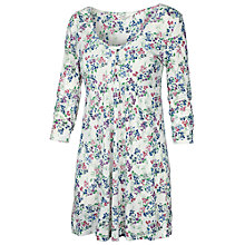Buy Fat Face Wild Flower Placket Tunic Top, Ivory Online at johnlewis.com