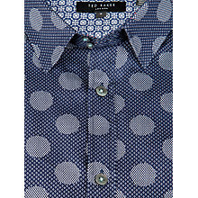 Buy Ted Baker Grettel Graphic Spot Print Shirt Online at johnlewis.com