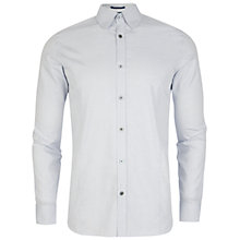 Buy Ted Baker Gudpins Dobby Spotted Shirt, White Online at johnlewis.com