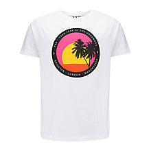 Buy Pear Shaped Apparel 8am Sunday Graphic Print T-Shirt Online at johnlewis.com