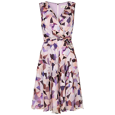 Product photo of Damsel in a dress misty print silk dress multi