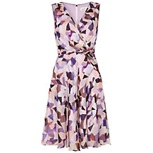 Buy Damsel in a dress Misty Print Silk Dress, Multi Online at johnlewis.com
