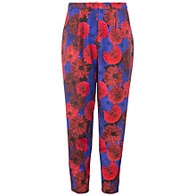 Buy Wolf & Whistle Floral Trousers, Multi Online at johnlewis.com