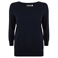 Buy Mint Velvet 3/4 Length Sleeve Knit Top Online at johnlewis.com