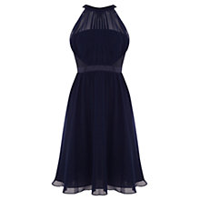 Buy Coast Angelique Dress, Navy Online at johnlewis.com