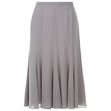 Buy Jacques Vert Chiffon Godet Skirt, Light Brown Online at johnlewis.com