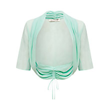 Buy Damsel in a dress Amelia Rosa Shrug, Aqua Online at johnlewis.com