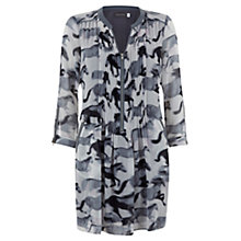 Buy Mint Velvet Elouise Print Tunic Dress, Multi Online at johnlewis.com