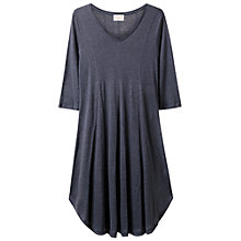Buy East Godet Jersey Dress, Blue Stone Online at johnlewis.com