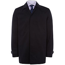 Buy Jaeger Rainwear Bonded Car Coat, Navy Online at johnlewis.com