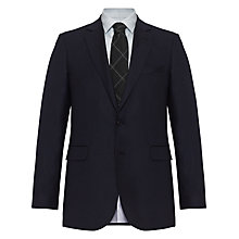 Buy Jaeger Birdseye Classic Italian Wool Suit Jacket, Navy Online at johnlewis.com
