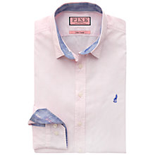 Buy Thomas Pink Egerton Jacquard Slim Fit Shirt, Pink Online at johnlewis.com