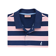 Buy Thomas Pink Weedon Stripe Polo Shirt, Pink/Navy Online at johnlewis.com