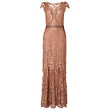 Buy Phase Eight Collection 8 Cindy Lace Full Length Dress, Petal Online at johnlewis.com