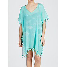 Buy Seafolly Amnesia Kaftan, Peppermint, One Size Online at johnlewis.com