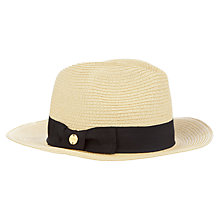 Buy Seafolly Rumor Hat, Natural, One Size Online at johnlewis.com